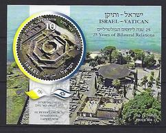 2019 Israel Vatican MNH - Blocks & Kleinbögen