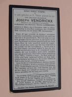 DP Joseph VENDRICKX ( Thérèse Lambrechts ) Alken 3 Dec 1863 - 27 Jan 1929 ( Zie Foto's ) ! - Décès