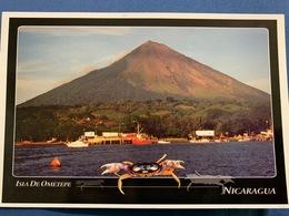 Postcard Circulated Nicaragua 2001, Ometepe Island - Nicaragua