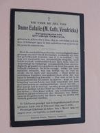 DP Dame Eulalie (M. Cath. VENDRICKX ) Religieuze / Alken 7 Jan 1832 - Luik 13 Feb 1909 ( Zie Foto's ) ! - Décès