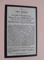 DP Dame Gertrude ( Anne-Elise VENDRICKX ) Religieuse / Alken 4 Sept 1826 - Gand 22 Juil 1909 ( Zie Foto's ) ! - Décès