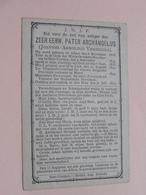 DP Z.E. Pater ARCHANGELUS (Joannes Vendrickx ) Alken 6 Nov 1818 - 27 Juli 1893 ( Zie Foto's ) ! - Décès