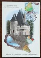 CM 2010 - YT N°4501 - NATURE / FAUNE / LES PAPILLONS - HAUTE GOULAINE - Cartas Máxima
