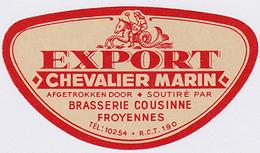 Export Chevalier Marin - Br. Cousinne (Froyennes) - Bière