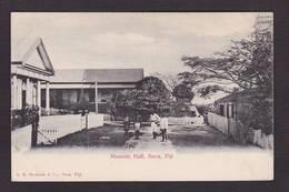 CPA Franc Maçonnerie Masonic Maçonnique Non Circulé Masonic Loge Suva Fidji Figi - Philosophie & Pensées