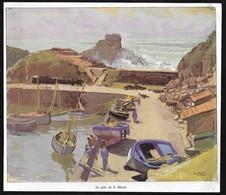 1935  --  ILE D YEU LE PORT DE LA MEULE  3S030 - Vieux Papiers