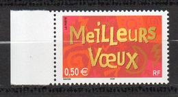 Timbres France BORD DE FEUILLE N° 3623 NEUF ** Meilleurs Vœux - Francia