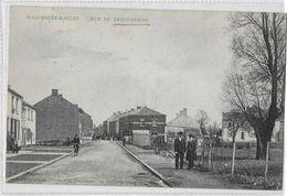 Wanfercée - Baulet  (82a)   Ancienne Carte De La Rue Du Trieu-Benoit  Top - Fleurus