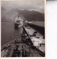 CANARIES  Le Port De SANTA CRUZ De TENERIFE 1956 Photo Amateur Format 7,5 X 5,5 Cm - Orte