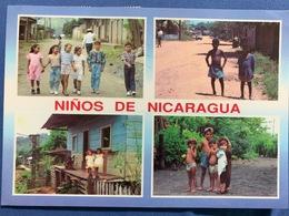 Postacard Circulated Nicaragua 1997, Nicaragua S Children - Nicaragua