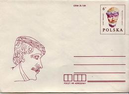 Poland Mint Postal Stationery Cover - Stamped Stationery