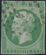 FRANCE - 1854, Mi 11, Yt 12 - 5 C, Oblitére - 1853-1860 Napoleon III
