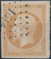 FRANCE - 1860, Mi 12, Yt 13 - 10 C, Oblitére - 1853-1860 Napoléon III