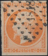 FRANCE - 1853, Mi 15, Yt 16 - 40 C, Oblitére - 1853-1860 Napoléon III