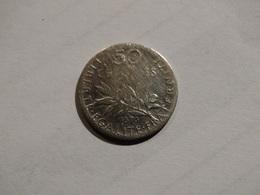 France 50 Centimes - 1898 - Semeuse. - France