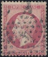 FRANCE - 1862, Mi 23, Yt 24 - 80 C, Oblitére - 1862 Napoleon III