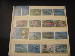 GRENADA  GRENADINES - 1995 FAUNA MARINA 9 + 9 VALORI - NUOVI(++) - Grenada (1974-...)