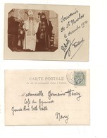 P366 FRANCIA NANCY SAINT NICOLAS SOUVENIR 1904 CARTOLINA VIAGGIATA - Nancy