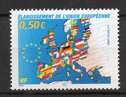 Timbres France N° 3666 NEUF ** Élargissement UE - Francia