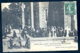 Cpa Du 22  Kérity Publication Des Promesses De Mariage à La Sortie De La Grand'Messe ---  Paimpol    DEC19-14 - Paimpol