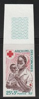 COMORES - NON DENTELE - N°45 ** (1967) Croix Rouge - Komoren (1950-1975)