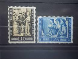 Italia 1955. Yvert 702-3 ** MNH. - 1946-60: Nuevos