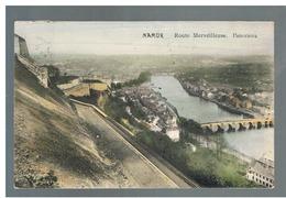 JM14.12 / CPA / NAMUR - LA  ROUTE MERVEILLEUSE - PANORAMA - Namur
