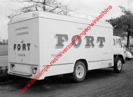 Fort Koffie Vrachtwagen Bedford In Oktober 1961 - Photo 15x23cm - Itegem Camion - Automobiles