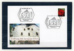 BRD, 2009, Brief Mit Michel 2669 Und Sonderstempel, Eröffnung Alte Synagoge Erfurt - [7] Federal Republic