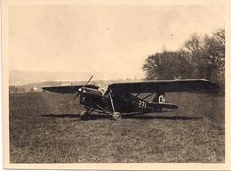 Aviation Avion Puss Moth - Topsy Club Genève - Rare - Aviation