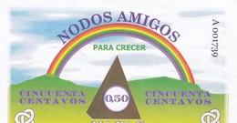 NODOS AMIGOS, PARA CRECER. CINCUENTA CENTAVOS 0.50 NAPAC. CIRCA 1990's ARGENTINA -LILHU - Argentina