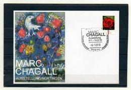BRD, 2010, Brief Mit Michel 2669 Und Sonderstempel, Marc-Chagall-Ausstellung Nürtingen - [7] République Fédérale