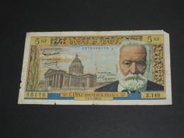 5 Cinq Francs VICTOR HUGO - 1-7-1965  **** EN ACHAT IMMEDIAT **** - 5 NF 1959-1965 ''Victor Hugo''