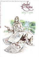 """"""" ANDRE LE NOTRE """" Sur Document Philatélique Officiel De 2013 (4 Pages)  N° YT F4751. Parfait état ! DPO - 2010-...."""