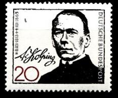 Allemagne 1965 Mi.:nr:477 Todestag Von Adolf Kolping  Neuf Sans Charniere / Mnh / Postfris - [7] République Fédérale