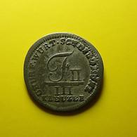Germany Wurttemberg 3 Kreuzer 1805 Silver - Monedas Pequeñas & Otras Subdivisiones
