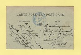 Saint Mihiel - 55e Regiment D Infanterie - 1919 - Marcophilie (Lettres)