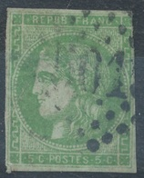 N°42 BORDEAUX LOSANGZ GRANDS CHIFFRES 5018 - 1870 Bordeaux Printing