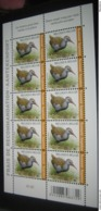 BUZIN 4671** Waterral / Râle D'eau ** 10 Zegels Voor Aangetekende Zending / Timbres Recommandé PL 2 - 1985-.. Oiseaux (Buzin)
