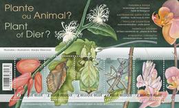 Blok 227** Plant Of Dier (Mimicrybij Dieren) 4522/26** / Mimétisme Chez Les Animaux - Plante Ou Animal - Neufs