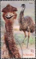 2019 AUSTRALIA EMU Postally Used $1 SHEET Stamp. VF Used YT No, 4753 - Oblitérés