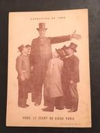 Hugo, Le Géant Du Vieux Paris - Exposition De 1900 - Notice Biographique - Vieux Papiers