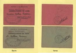 AOF - Laissez Passer - Dakar Succursale - 8 Juin 1940 - Direction Regionale Postes Et Telgraphes - Rare - Covers & Documents