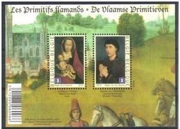 Blok 185** De Vlaamse Primitieven 4085/86** Les Primitifs Flamands - Bloc 185 MNH - Blocs 1962-....