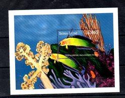 SIERRA LEONE,  FISH, M/S, MNH** - Pesci