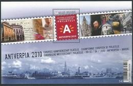 Blok 181** Antverpia 2010 Met 4029** National & European Championship Of Philately Antwerpen 2010 - Blocs 1962-....