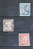 1893. Taxe N° : 18+19+22 ND - Portomarken