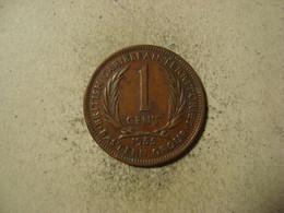 MONNAIE CARAIBES ORIENTALES 1 CENT 1955 - Caribe Oriental (Estados Del)