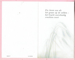 Bidprentje - Louis CAERS Wed. Rosalie VANEYNDE - Geel 1909 - 1987 - Images Religieuses