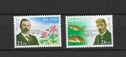 1989 MNH Iceland, Michel 710-11 Postfris** - Unused Stamps